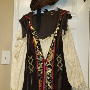 Other - Halloween Pirate top and hat